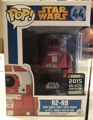 Funko Pop Star Wars R2-R9 #44 2015 Galactic Convention Exclusive Droid R2D2
