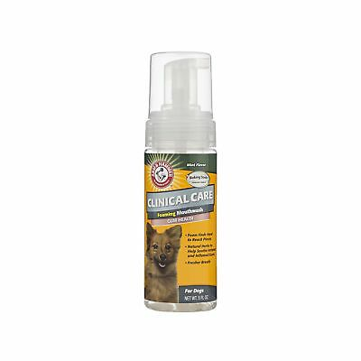 Arm & Hammer Clinical Pet Care Dental Foaming Mouthwash for Dogs   Soothes