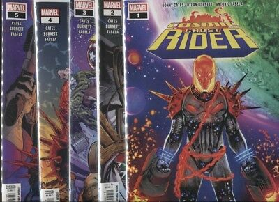 Cosmic Ghost Rider #1 2 3 4 5 Complete Set ~ Donny Cates ~ 1St Prints