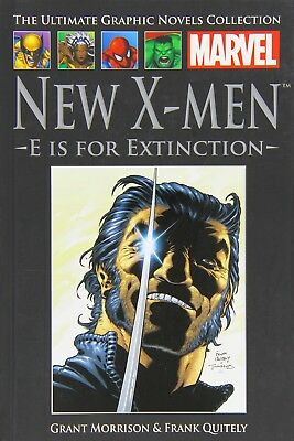 Marvel the ultimate graphic novels collection new x- men e is for extinction