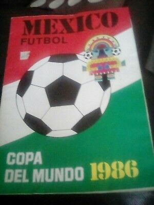 Genuine rare World Cup Finals collectable programme magazine  Mexico 1986