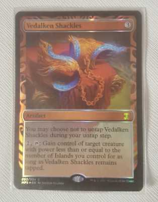 Magic The Gathering Vedalken Shackles Masterpiece Series: Kaladesh Inventions (F