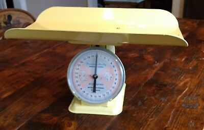 VINTAGE 1960'S AMERICAN FAMILY NURSERY BABY SCALE 30 lb MODEL