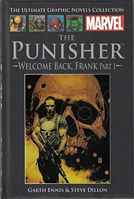 Marvel the ultimate graphic novels collection the punisher welcome back frankpt1