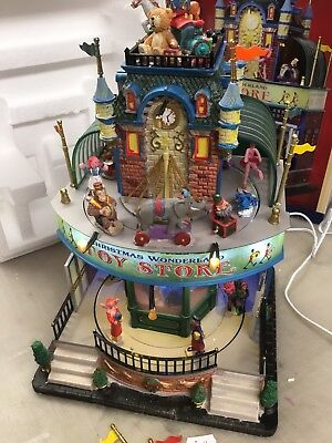 Lemax Christmas Wonderland Toy Store Needs Attention