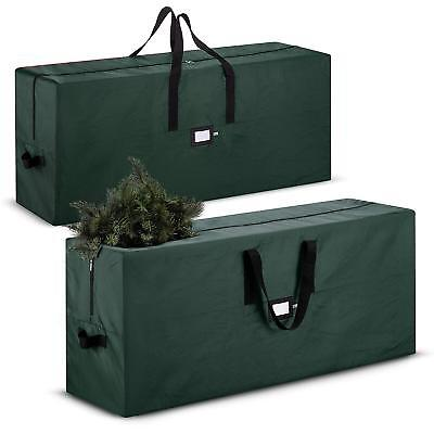 Christmas 420D Tree Bag - 48 x 15 x 20 in. -  Set of 2 - Green