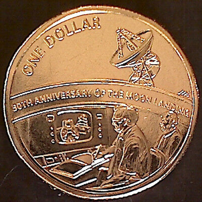 2019 $1 '50th Anniversary of the Moon Landing' ExMint Set Coin