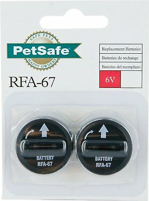 NEW Bark Collar Replacement Batteries Pack of 2 6V PetSafe RFA-67