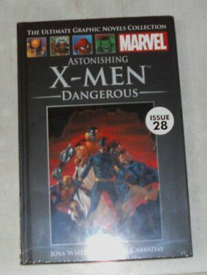 Marvel the ultimate graphic novels collection astonishing x-men dangerous