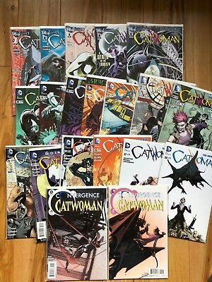 Catwoman New 52 #1,2,3,4,5,10,11,15,16,17,21,24,25,27,30,31,37,38 + Convergence