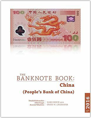 China chapter from best catalog of world notes, The Banknote Book