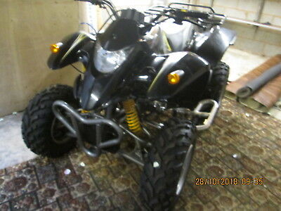 Excellent Smc Quadzilla 250 Black Only 500 Miles From New  L@@k