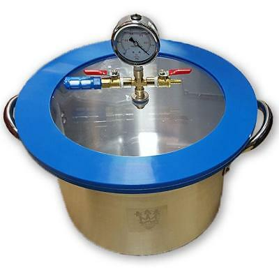 SMO-KING Vacuum Degassing Chamber 3 Gallon Stainless steel - 13.6 Litre