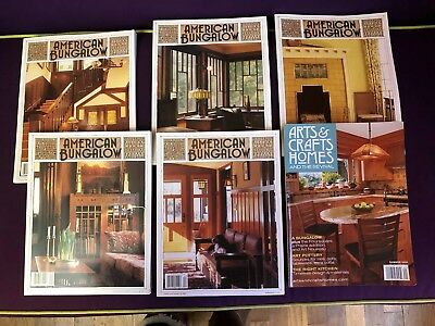 Lot American Bungalow Magazines