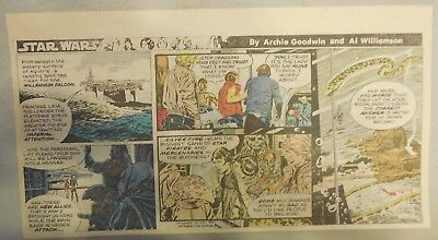 Star Wars Sunday Page by Al Williamson from 1/17/1982 Third Page Size!