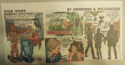 Star Wars Sunday Page by Al Williamson from 5/10/1981 Third Page Size!