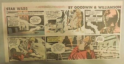 Star Wars Sunday Page by Al Williamson from 7/5/1981 Third Page Size!