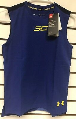 Under Armour Boys/' SC30 Essentials Sleeveless Shirt Tank Top size YSM,YMD