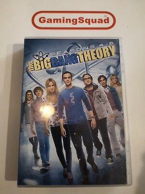Big Bang Theory Seasons 4 - 6 BOXSET DVD, Supplied by Gaming Squad Ltd