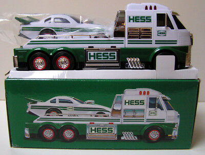 HESS 2016 Toy Truck & Dragster Collectible Lights Sounds Batteries - New in Box