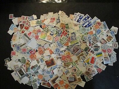BAG O LOT of Postage Stamps from Canada, Unchecked or researched