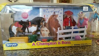 breyer horse, doll, and accessories
