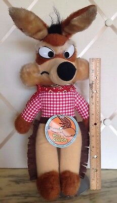 Vintage 1971 Warner Brothers Wile E. Coyote Mighty Star Character Figure!
