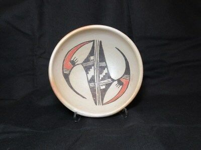 Vintage Hopi bowl, signed Marjorie Tewayguna, very good condition, pre-owned