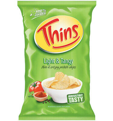Thins Light & Tangy 45g x 18