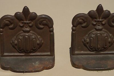 Pair of Vintage cast iron bookends