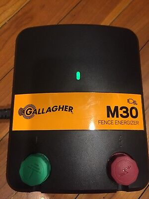 Gallagher M30, Electric Fence Charger / Energizer - Free shipping