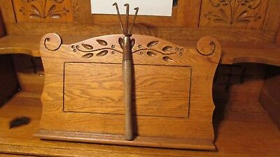 Vintage Wooden Handle Garden Fork  (Free Shipping)
