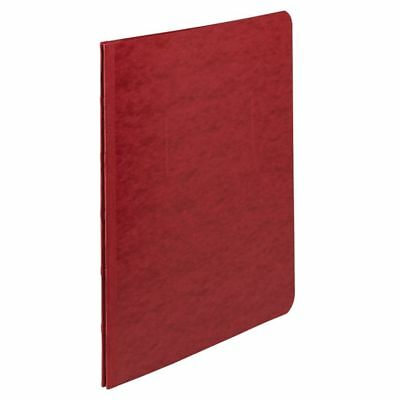 """ACCO Pressboard Report Cover With Fastener, Side Bound, 8 1/2"""" x 11"""", Earth Red"""