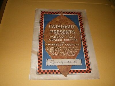 Liggett & Myers Tobacco Company 1917 Tobacco Premium Catalog Indian Motorcycle