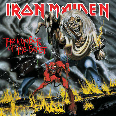 Number Of The Beast - Iron Maiden (2018, CD NEUF)