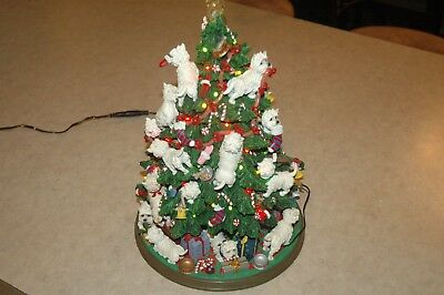 Westie Christmas Tree by Danbury Mint in original box