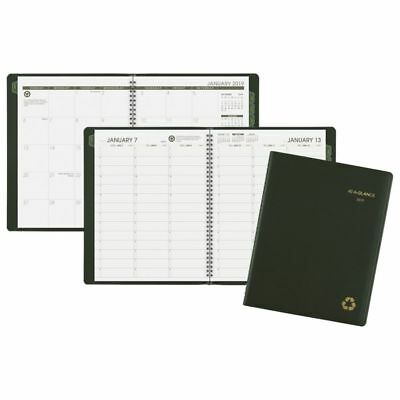 """AT-A-GLANCE® Weekly/Monthly Appointment Book/Planner, 8 1/4"""" x 10 7/8"""", 100% Rec"""