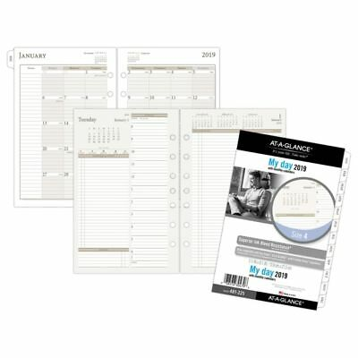 """AT-A-GLANCE® Day Runner® 2 Pages Per Day Refill, Size 4, 5 1/2"""" x 8 1/2"""","""
