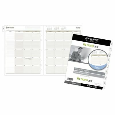 """AT-A-GLANCE® Day Runner® Monthly Planner Ruled-Block Refill, Size 5, 8 1/2"""" x"""