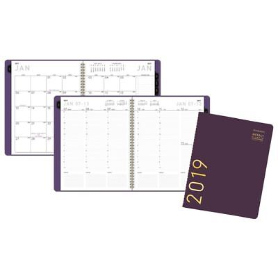 """AT-A-GLANCE® Contemporary Weekly/Monthly Appointment Book/Planner, 8 1/4"""" x 10 7"""