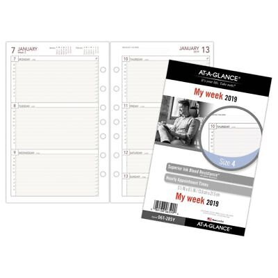 """AT-A-GLANCE® Day Runner® Weekly Planner Refill, Size 4, 5 1/2"""" x 8 1/2"""", January"""