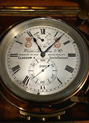 Whyte Thomson, Marine Chronometer, Excellent Condition !!!!!!, Free Shipping