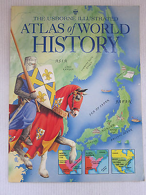 Atlas of World History by M. Ross, Lisa Miles (Paperback, 1995) - Used