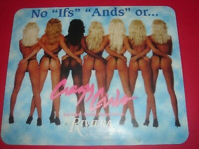 """""""reduced"""" Riviera Casino  Las Vegas  - Sexiest Toplesss Review  Mousepad"""