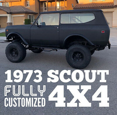 1973 International Harvester Scout  1973 International Scout 4x4 off-road truck