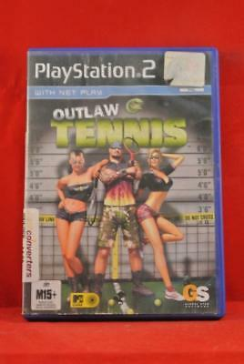 Outlaw Tennis - PS2 Sony PlayStation 2 Game | Complete PAL