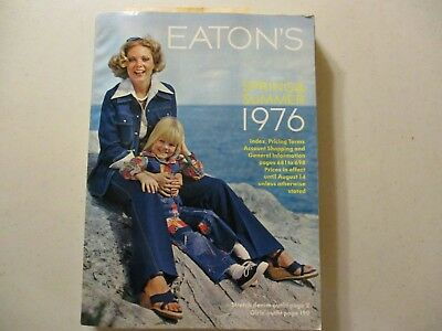 Vintage Eatons Canada Catalog Catalogue 1976 Spring and Summer