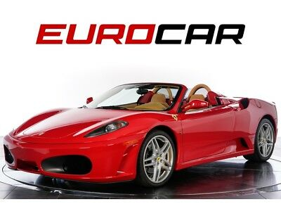 2007 F430 Spider California Vehicle, Immaculate Condition Inside and Out, Daytona Style Seats
