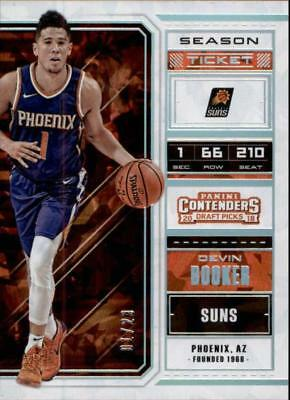 2018-19 Panini Contenders Draft Picks Cracked Ice Ticket #13 Devin Booker 1/23