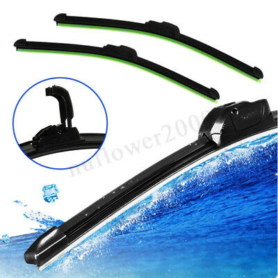 22 Inch Car Windshield Wiper Blade For U-Type Hook Rubber Frameless